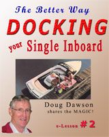 Docking Your Single Inboard