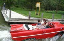 red-amphicar