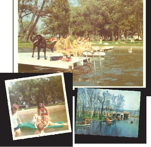 photos on the dock