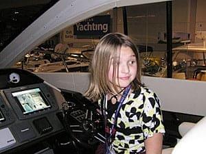 Kaitlyn boat show
